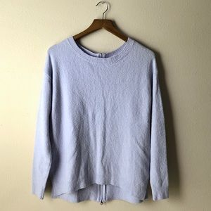 Caslon Lilac ScoopNeck Pullover size S